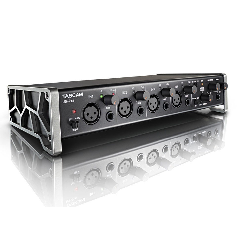 TASCAM US 4x4 USB Audio/Midi interface